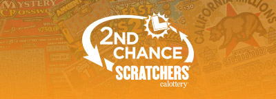 2nd Chance Scratchers, calottery logo