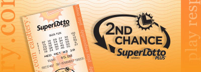 2nd Chance SuperLotto Plus, calottery ticket