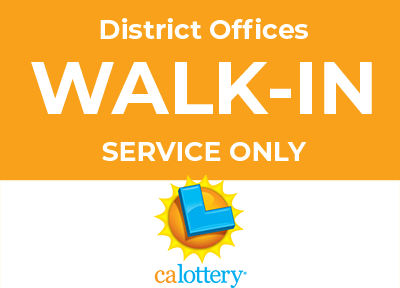 District offices are open for walk-in service only