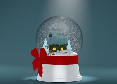 Gift Responsibly snowglobe