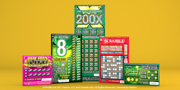 New Scratchers on Yellow Background