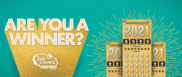 promo ended message for 2021 scratchers 2nd chance on blue background