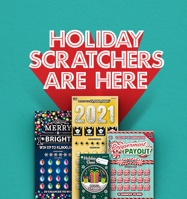Holiday Scratchers are here