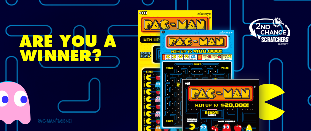 Are You a Winner PAC-MAN 2nd Chance Image