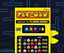 Pac-man scratchers image