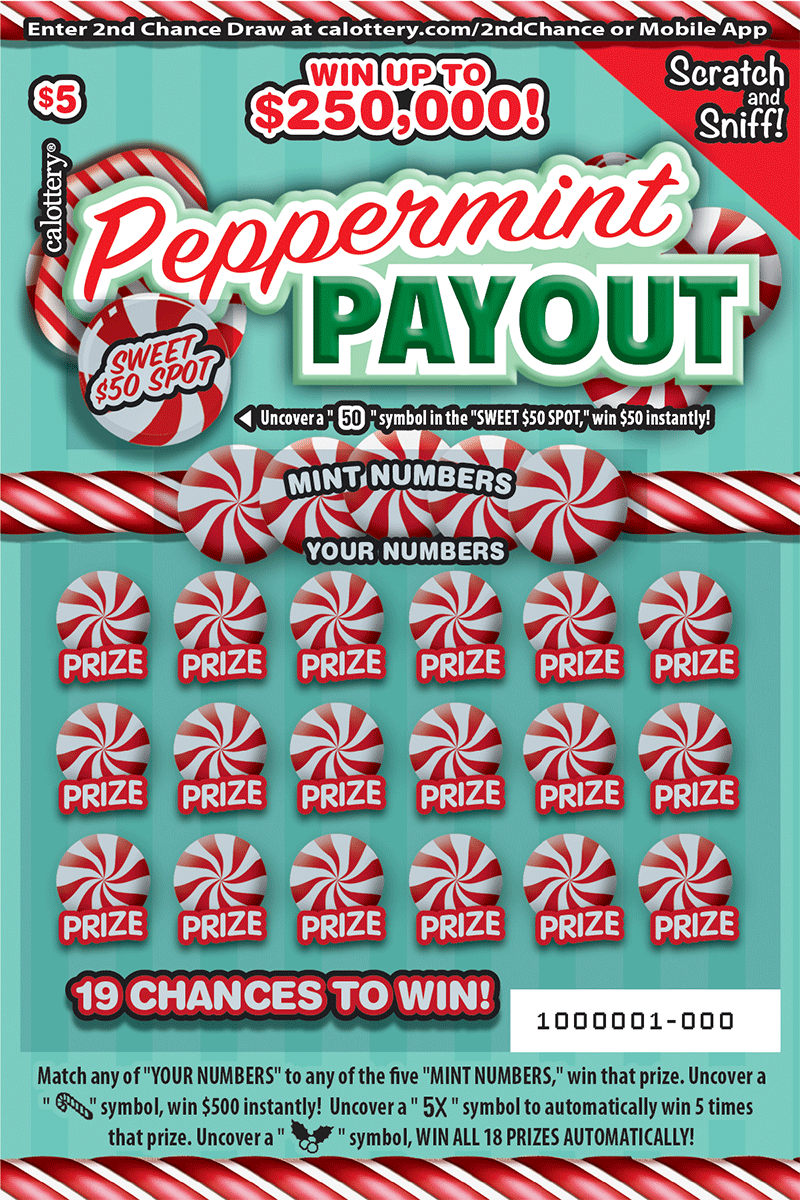 $5 Peppermint Payout