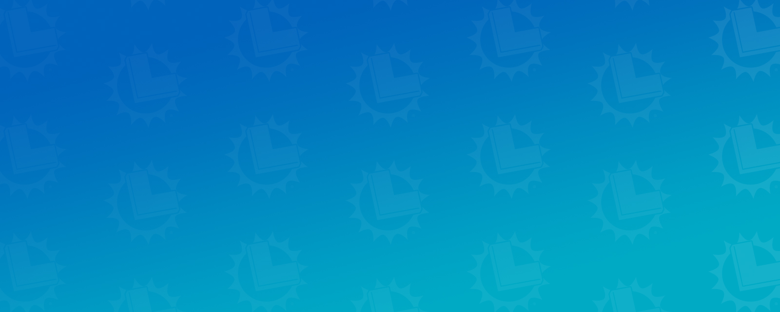 CA Lottery Logos on Blue Background
