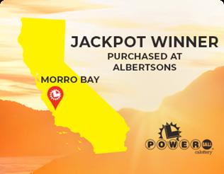 Powerball Jackpot Winner Morro Bay