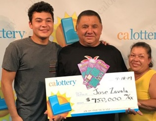 Jose from North Hollywood won $750,000