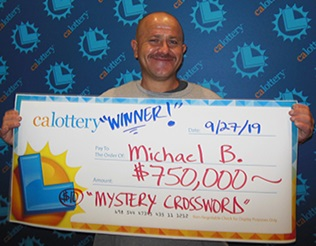 Michael Banks - winner of $750,000