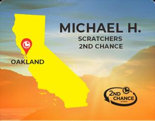Michael H of Oakland 2nd chance winner