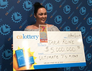 Tara Kline- winner of 5 million dollars