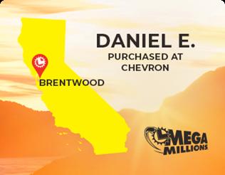 Daniel E won $2.3 million playing Mega Millions