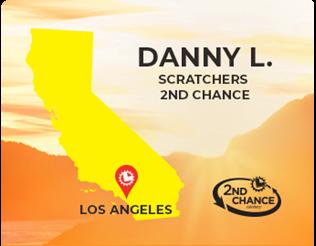 Danny L. of Los angeles 2nd Chance winner